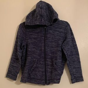 Boy's Old Navy Hooded Zip Up Sweater Size XS 5